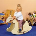 лошадка-качалка,как сделать качалку-коня,деревянный конь-качалка